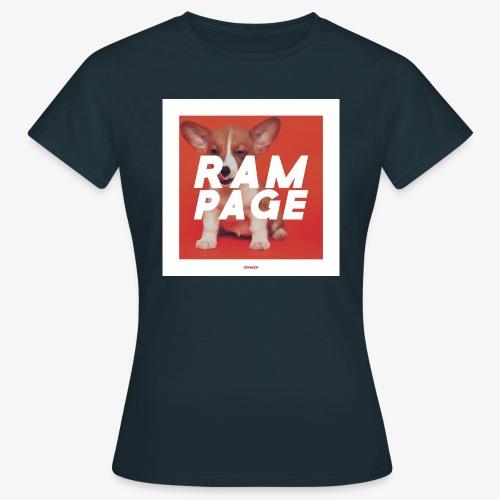 RAMPAGE #01 - Frauen T-Shirt