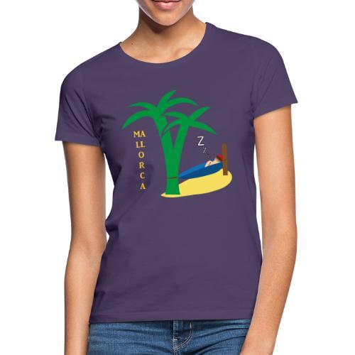 Mallorca - Urlaub unter Palmen - Frauen T-Shirt