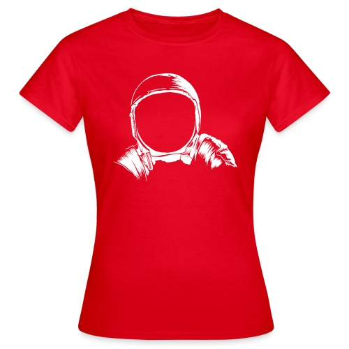 Astronauten Helm - Frauen T-Shirt
