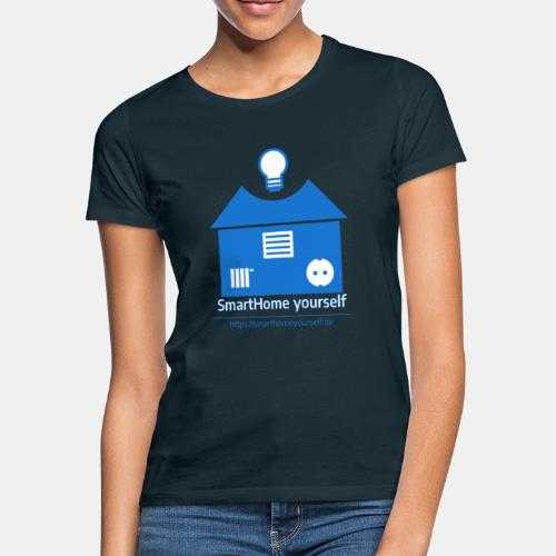 SmartHome yourself Logo Groß - Frauen T-Shirt