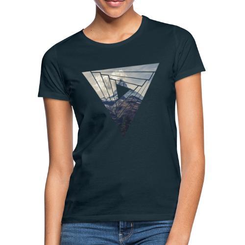Matterhorn Zermatt Dreieck Design - Frauen T-Shirt