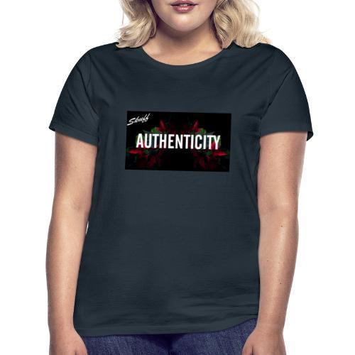 Authenticity - T-shirt Femme