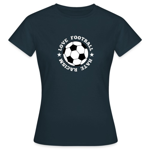 NEUNEUhateracismWHITE png - Frauen T-Shirt