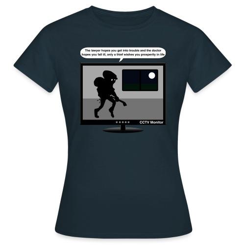 CCTV monitor - Thief-wish - Women's T-Shirt