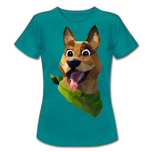 LOW POLY DOGO - T-shirt Femme