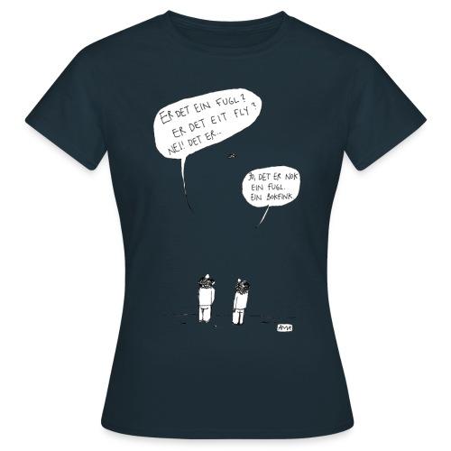 06 bokfink - T-skjorte for kvinner