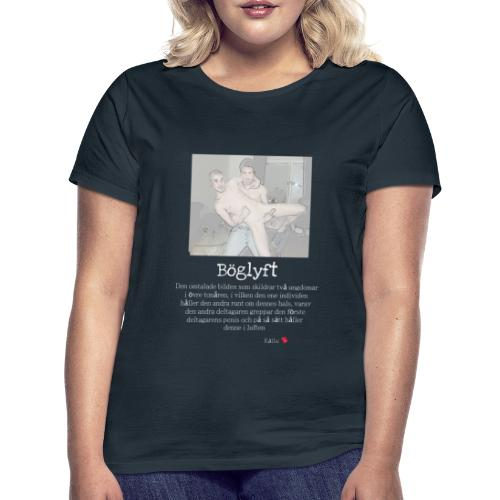 Böglyftet - T-shirt dam