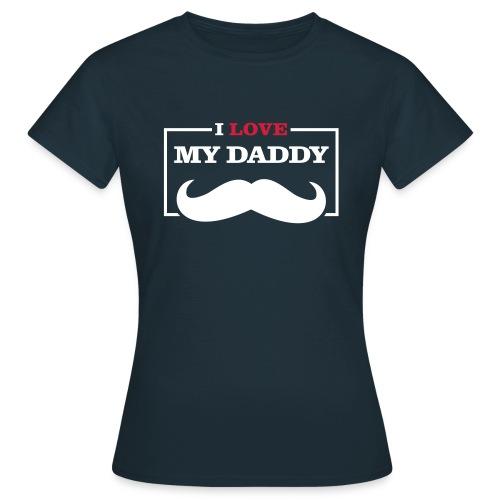 LOVE DADDY - Maglietta da donna