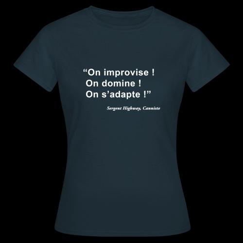 Highway - T-shirt Femme
