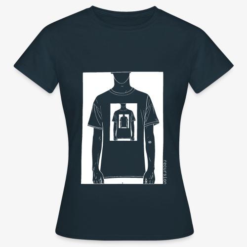 Recursion inverted | Geek | Art | Loop | - Women's T-Shirt