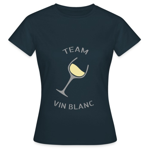 Team Vin Blanc - T-shirt - T-shirt Femme