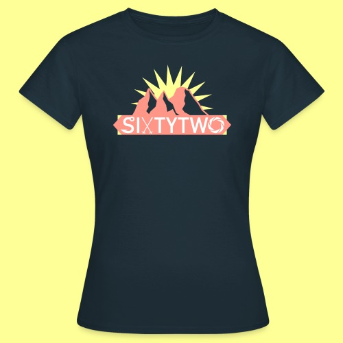 Peach & Yellow - Naisten t-paita