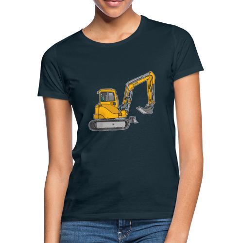 Gelber Bagger - Frauen T-Shirt