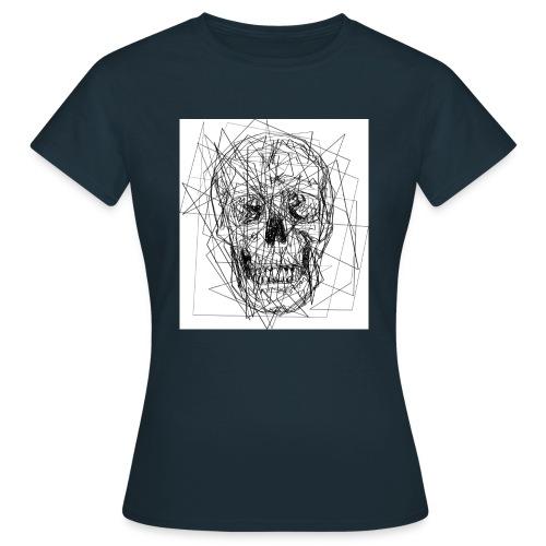 teschio - Maglietta da donna
