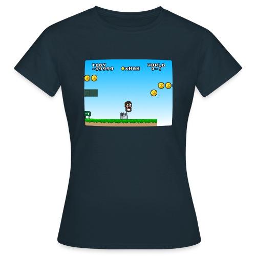 Jump n Run Toby - Frauen T-Shirt