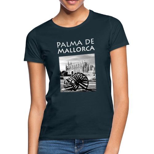 Palma de Mallorca mit Cathedrale Heiligen Maria - Frauen T-Shirt