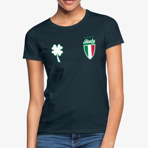 Italia Scudo e trifoglio - Maglietta da donna