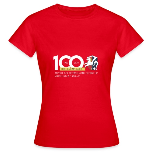 BIG100 4 - Frauen T-Shirt