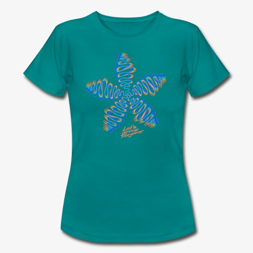 Good Vibes - let's shake together - Frauen T-Shirt