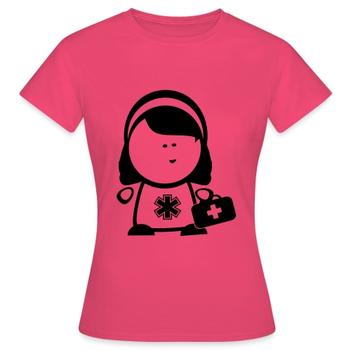 Retter Sani Girl - Frauen T-Shirt