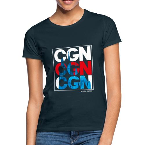 CGN x3 - Frauen T-Shirt