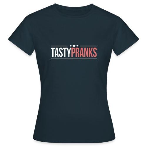 TastyPranks logo tansparent 100cm png - T-skjorte for kvinner