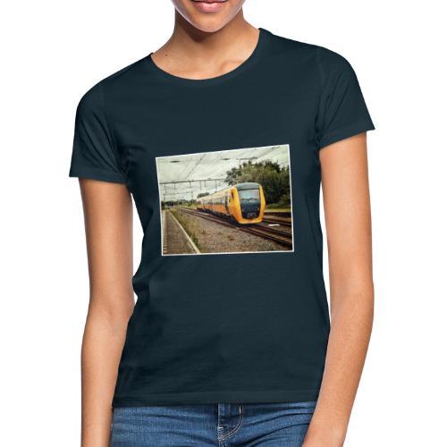 Dieseltrein in Santpoort - Vrouwen T-shirt