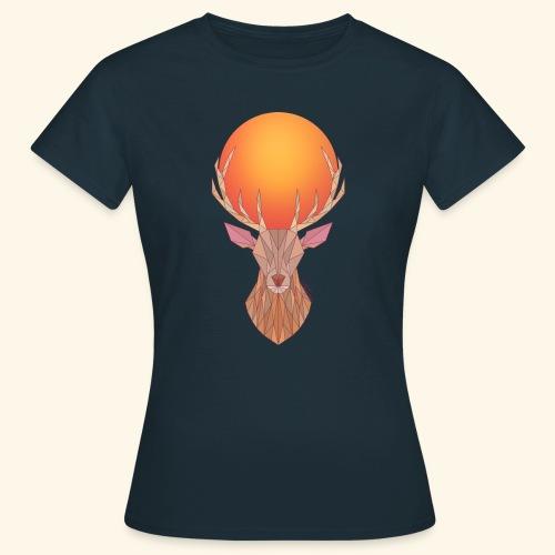 Roi Cerf Doré - T-shirt Femme