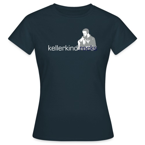 rocks logo full small - Frauen T-Shirt