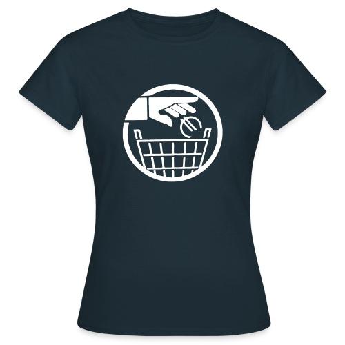 SAC en tissu euro poubelle - T-shirt Femme