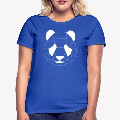 Panda Geometrisch weiss - Frauen T-Shirt