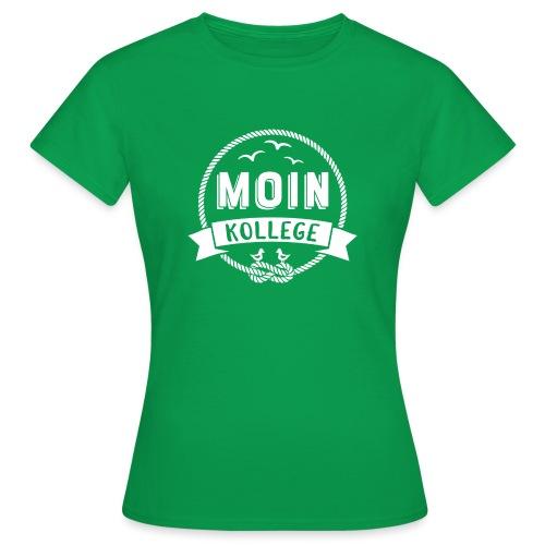 Moin Kollege Geschenk für Strandliebhaber - Frauen T-Shirt