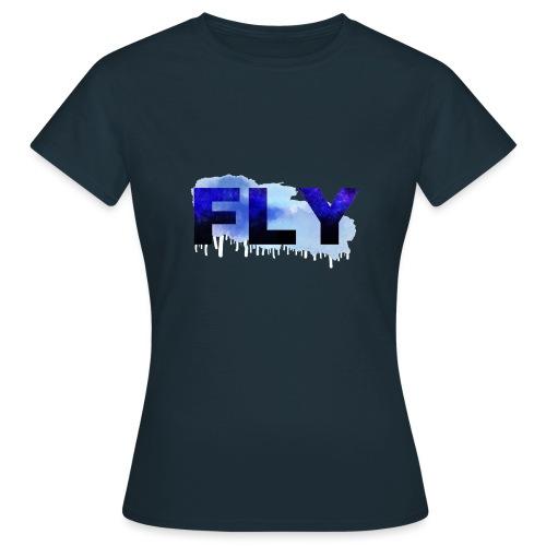 Paint Fly Design - Women's T-Shirt