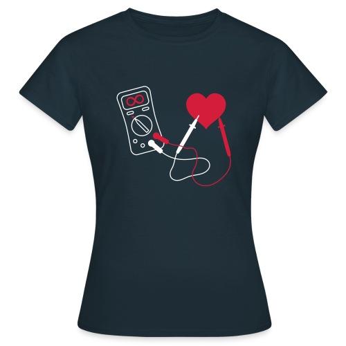 Heart Multimeter - Dark - Vrouwen T-shirt