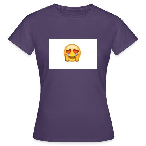 Emoij Hoesje - Vrouwen T-shirt