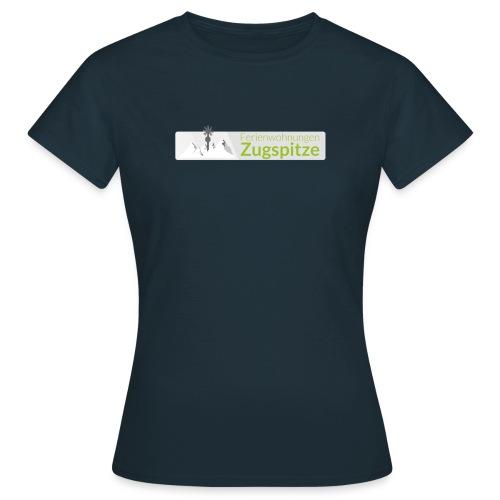 logo fewo zugspitze farbig transparent m - Frauen T-Shirt