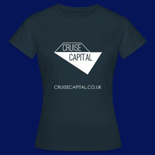 cruisecapitallogo1fweblink png - Women's T-Shirt
