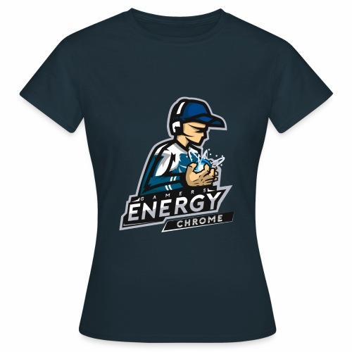 Gamers Energy Chrome - T-shirt Femme