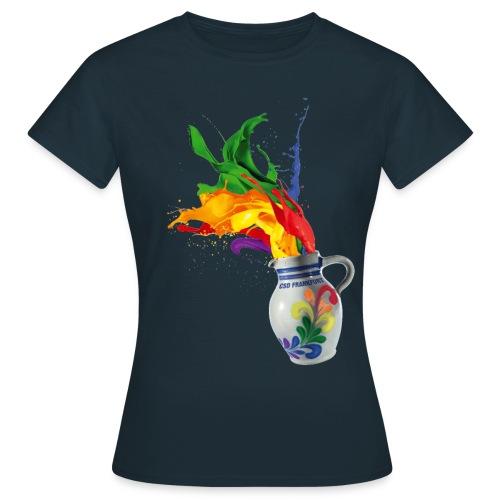 csd_bembel_freisteller_CM - Frauen T-Shirt