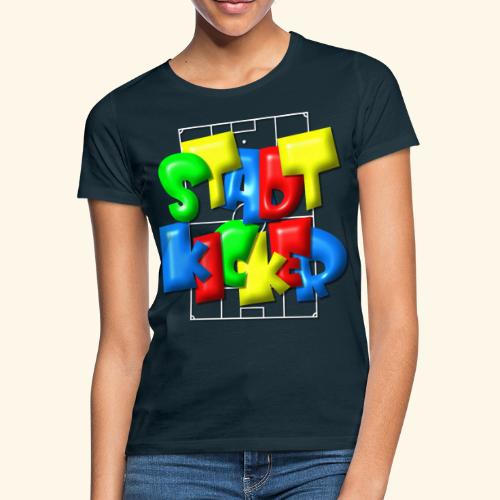 Stadtkicker im Fußballfeld - Balloon-Style - Frauen T-Shirt
