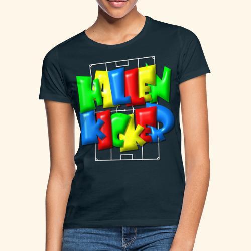 Hallenkicker im Fußballfeld - Balloon-Style - Frauen T-Shirt
