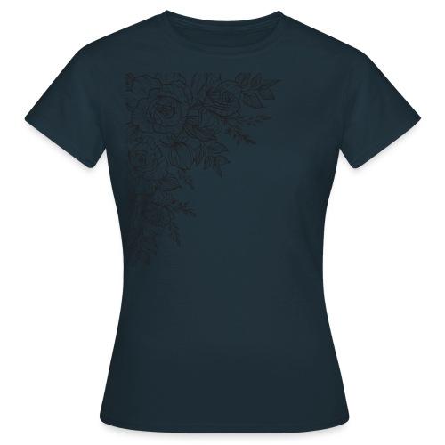 FLORES - Camiseta mujer
