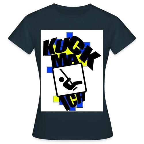 KMI DESIGNZ Blue Yellow - Frauen T-Shirt