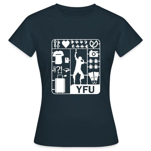bausatz 409 - Frauen T-Shirt