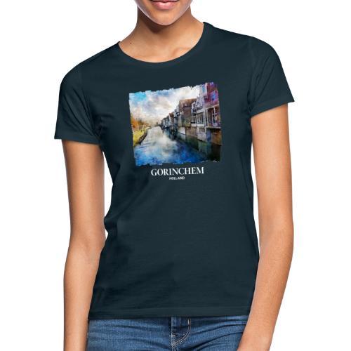 Watercolor painting Appeldijk Gorinchem - Vrouwen T-shirt