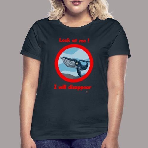 regardez moi ! baleine - T-shirt Femme