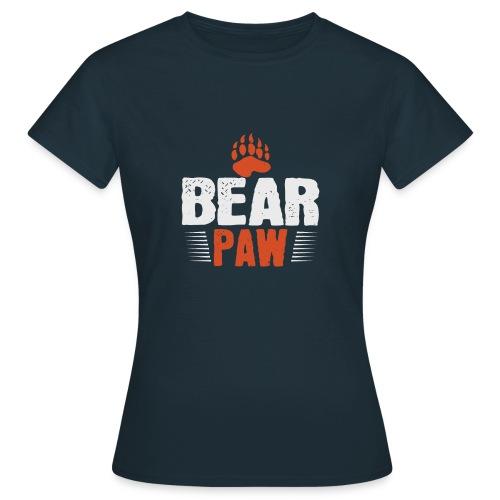 Bear paw - Vrouwen T-shirt