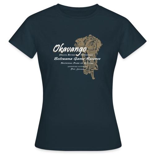 026 Okavango Elefant png - Frauen T-Shirt