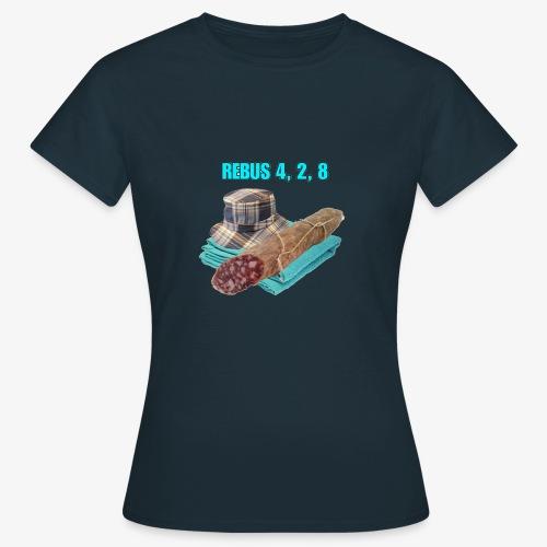 NDW REBUS - Maglietta da donna