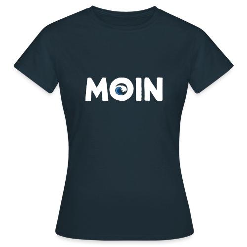 Moin Welle Ahoi Meer maritim Geschenk - Frauen T-Shirt